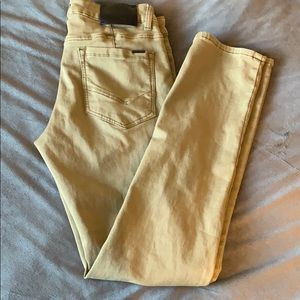 Men's Ezekiel olive green pants